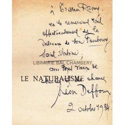 Le naturalisme avec un florilège des principaux écrivains naturalistes