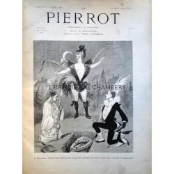 Le Pierrot  paraissant le vendredi