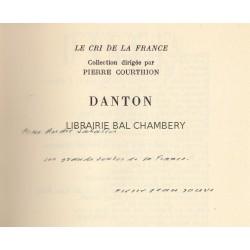 Discours - Choix de textes et préface de Pierre Jean Jouve et Frédéric Ditisheim
