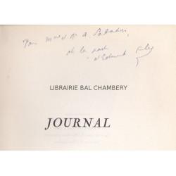 Journal présenté par François Mauriac