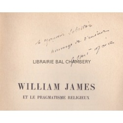 Williams James et le pragmatisme religieux