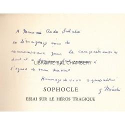 Sophocle - Essai sur le héros tragique
