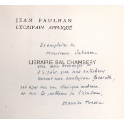 Jean Paulhan l'écrivain appliqué
