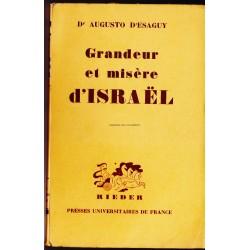 Grandeur et misère d'Israel