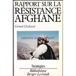 Rapport sur la résistance afghane