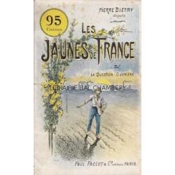 Les jaunes de France et la question ouvrière