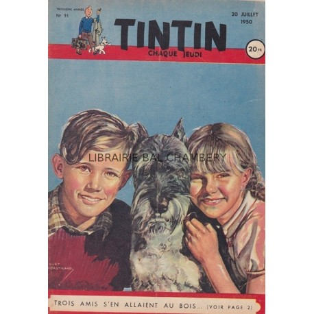 Tintin chaque jeudi, n° 91, troisième année