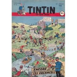 Tintin chaque jeudi, n° 95,  troisième année