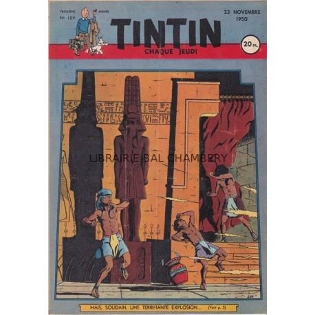 Tintin chaque jeudi,  n°109, troisième année