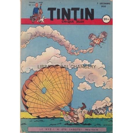 Tintin chaque jeudi, n°111, troisième année