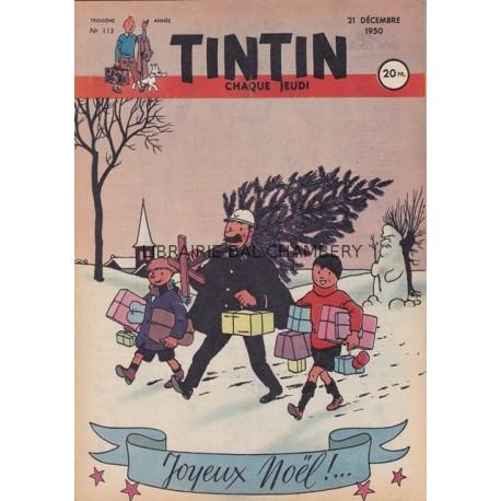 Tintin chaque jeudi, n°113, troisième année