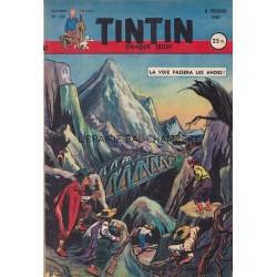 Tintin chaque jeudi, n°120, quatrième année