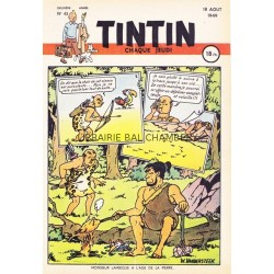 Tintin chaque jeudi, n°43, deuxième  année