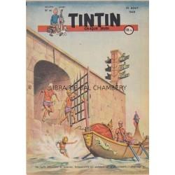 Tintin chaque jeudi, n°44,  deuxième  année
