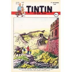 Tintin chaque jeudi, n°45, deuxième  année