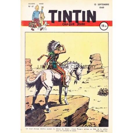 Tintin chaque jeudi, n°47, deuxième  année