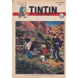 Tintin chaque jeudi, n°48, deuxième  année