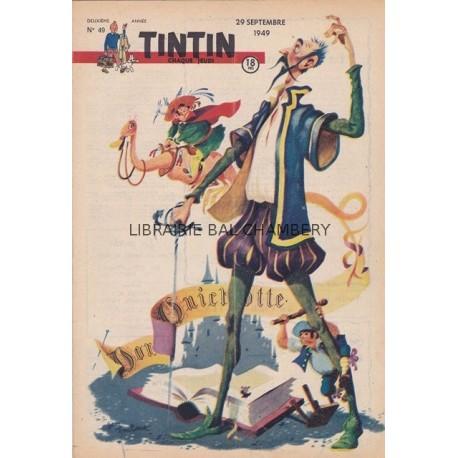 Tintin chaque jeudi, n°49, deuxième  année