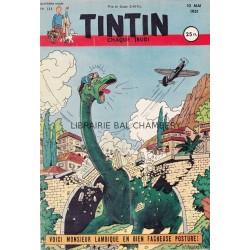 Tintin chaque jeudi, n°133, quatrième année