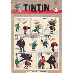 Tintin chaque jeudi, n°134, quatrième année