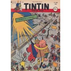 Tintin chaque jeudi, n°136, quatrième année