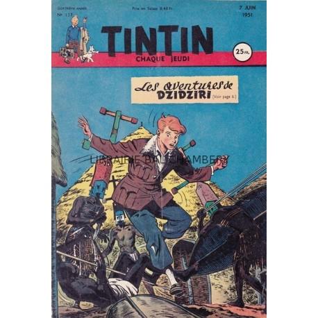 Tintin chaque jeudi, n°137, quatrième anné