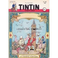 Tintin chaque jeudi, n°139, quatrième année