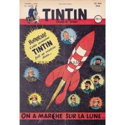 Tintin chaque jeudi,  n° 187,  cinquième année