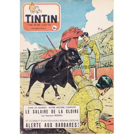 Tintin chaque jeudi,  n°305,  septième année