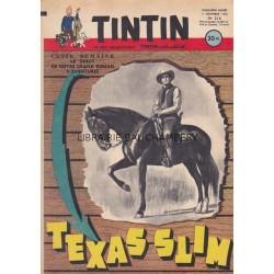 Tintin chaque jeudi,  n°216,  cinquième année
