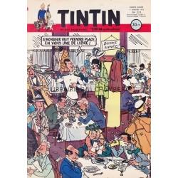 Tintin chaque jeudi,  n°219,  cinquième année