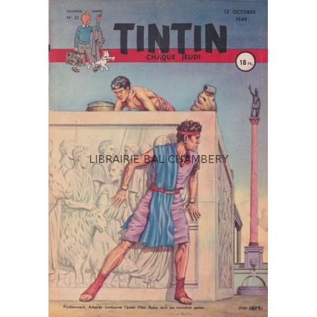 Tintin chaque jeudi,  n° 51,  deuxième année