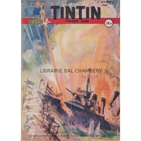 Tintin chaque jeudi,  n° 56,  deuxième année
