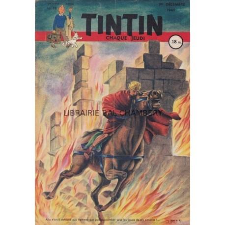 Tintin chaque jeudi,  n° 58,  deuxième année