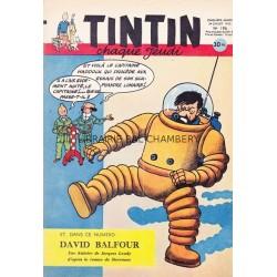 Tintin chaque jeudi,  n° 196,  cinquième année