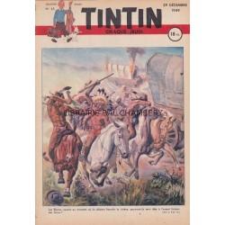 Tintin chaque jeudi,  n° 62,  deuxième année