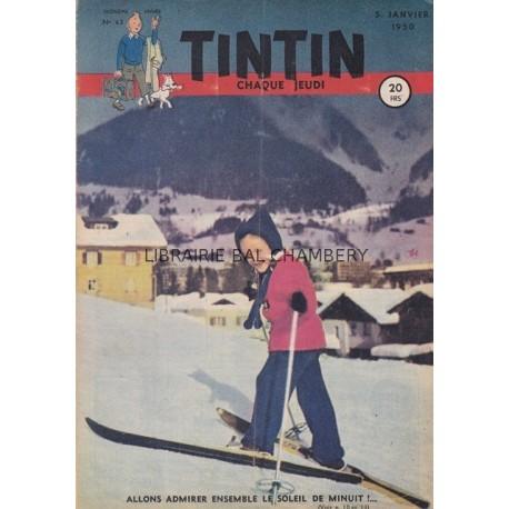 Tintin chaque jeudi,  n° 63,  troisième année