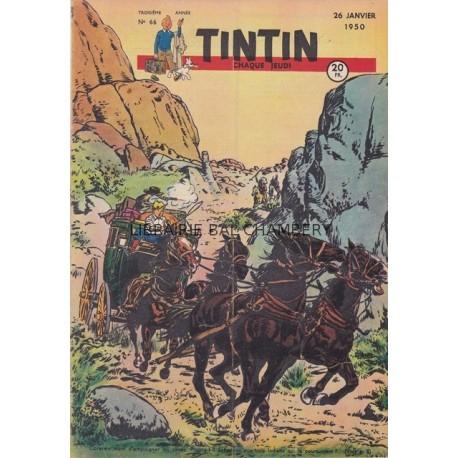 Tintin chaque jeudi,  n° 66,  troisième année