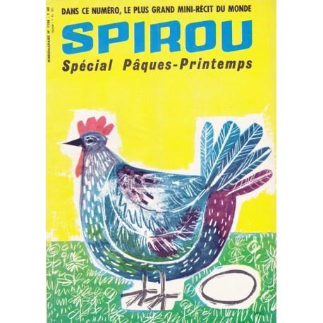 Spirou, 24° année,  n°1198