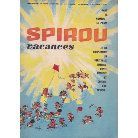 Spirou, 24° année,  n°1211