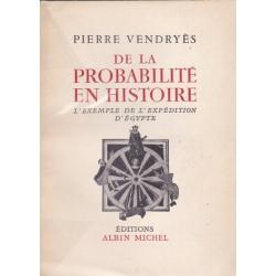 De la probabilité en histoire - L'exemple de l'expédidition d'Egypte