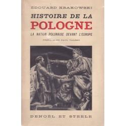 Histoire de la Pologne - La nation polonaise devant l'Europe - Préface de Paul Valéry
