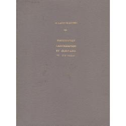 Commentaire sur l'oeuvre relatice aux Alpes des topographes, cartographes et écrivains 2° moitié du XVI s