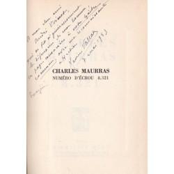 Charles Maurras, numéro d'écrou 8.321