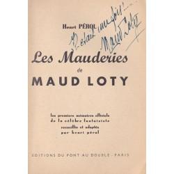 Les Mauderies de Maud LOTY