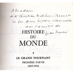 Histoire du monde – IV Le grand tournant (1815-1914/ De 1914 à nos jours)