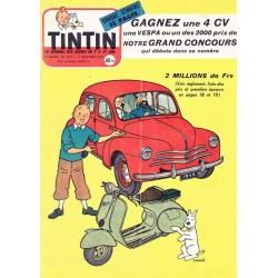 Tintin chaque jeudi,  n° 371,  huitième année