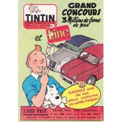 Tintin chaque jeudi,  n° 419,  neuvième année