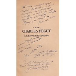 Avec Charles Péguy - De la Lorraine à la Marne - Aout-Septembre 1914