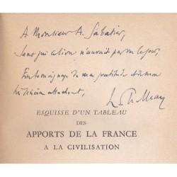 Esquisse d'un tableau des apports de la France à la civilisation